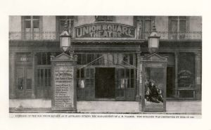 Union Square Theatre in 1880