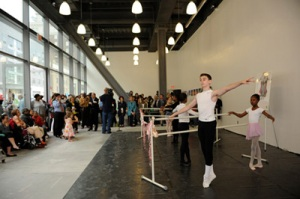Brooklyn Ballet's storefront